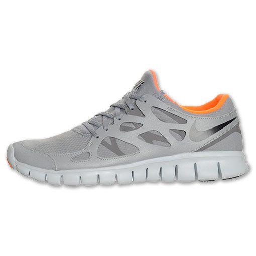 Nike Grau Orange Augmented Reality