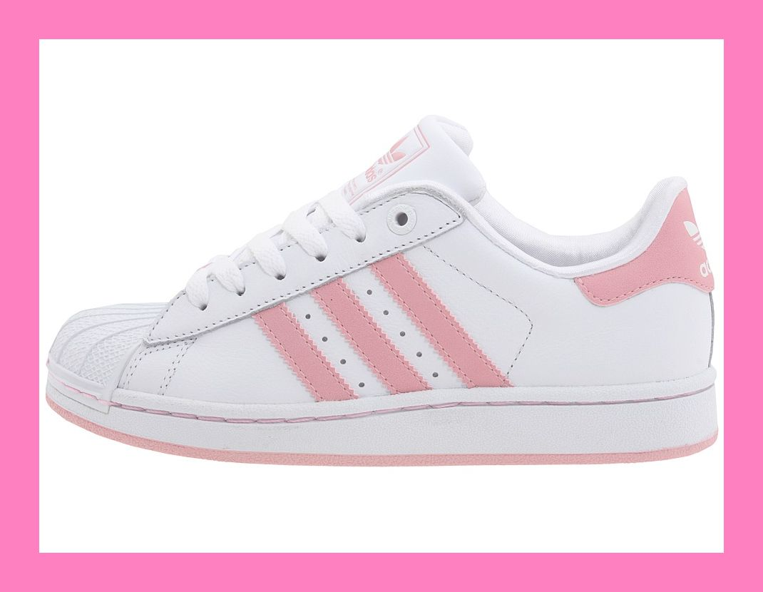 adidas superstar ii 2 neu gr 38 2 3 weiss rosa schuhe ebay. Black Bedroom Furniture Sets. Home Design Ideas
